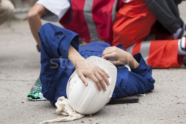 Work accident Stock photo © wellphoto