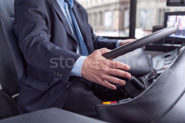 Bus driver Stock photo © wellphoto