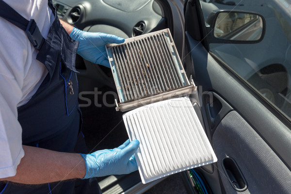 Cabin air filter Stock photo © wellphoto