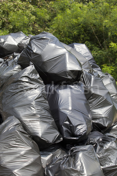 Garbage bags  Stock photo © wellphoto