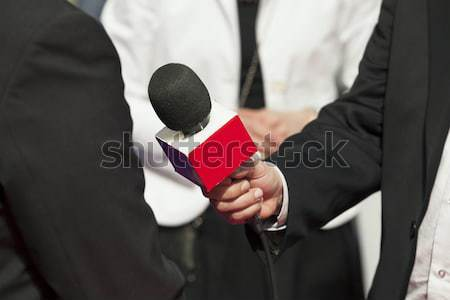 Press briefing Stock photo © wellphoto