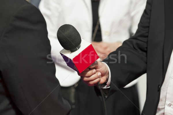 Microphone Stock photo © wellphoto