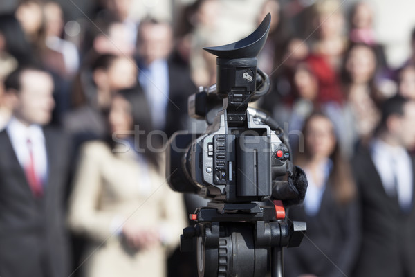 Television broadcasting  Stock photo © wellphoto