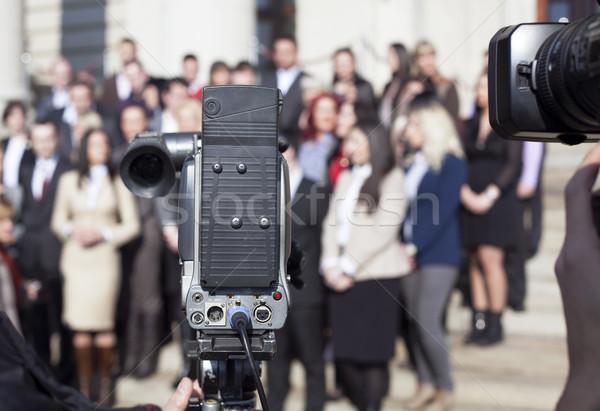TV broadcasting Stock photo © wellphoto