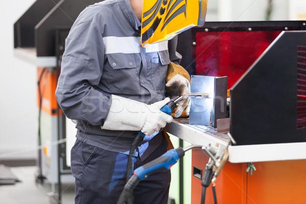 Welding. Welder at work. Stock photo © wellphoto