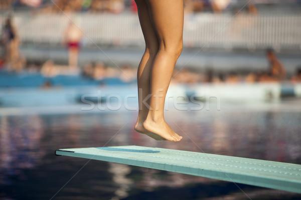 Jump Stock photo © wellphoto