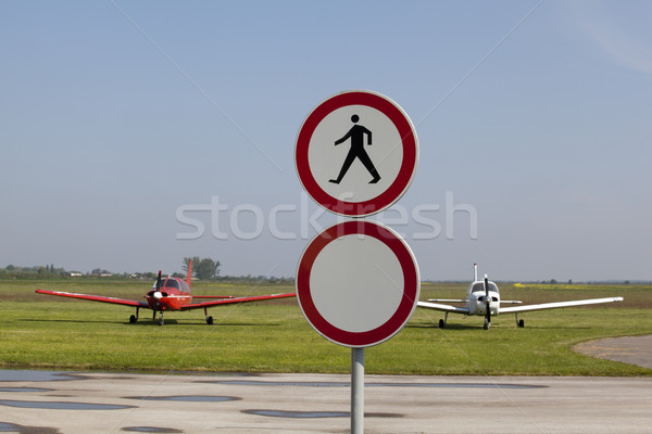 Stock photo: Only for pilots