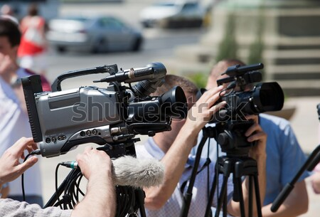 Stock photo: Camerman