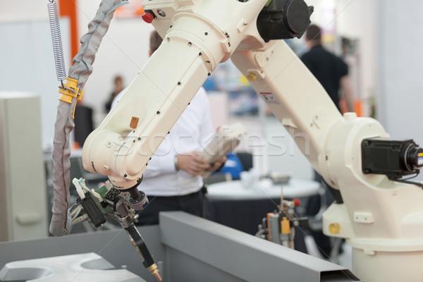 Robotic arm Stock photo © wellphoto
