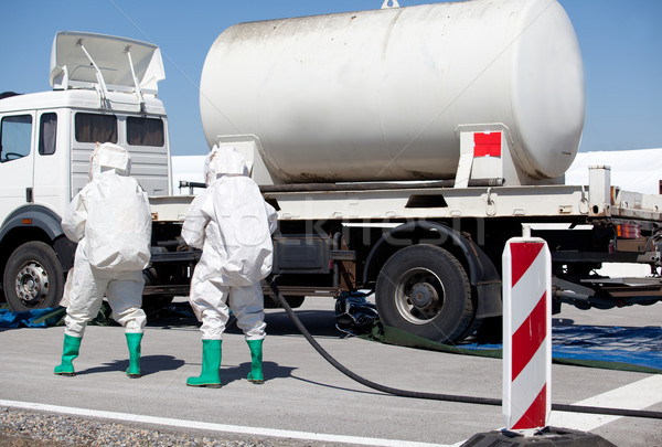 Chemical spill  Stock photo © wellphoto