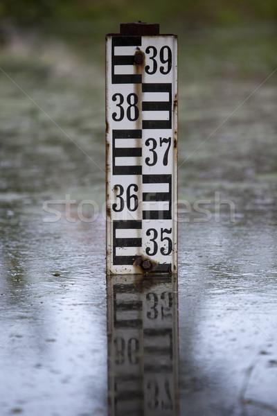 Water level indicator Stock photo © wellphoto