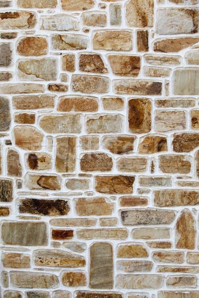 Taş duvar Bina inşaat arka plan dokular Retro Stok fotoğraf © wellphoto