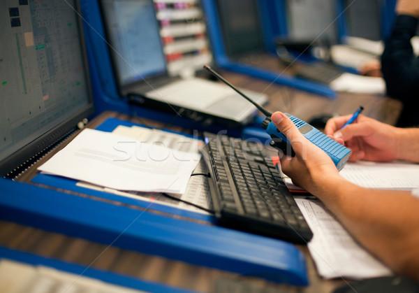 Control room operator Stock photo © wellphoto