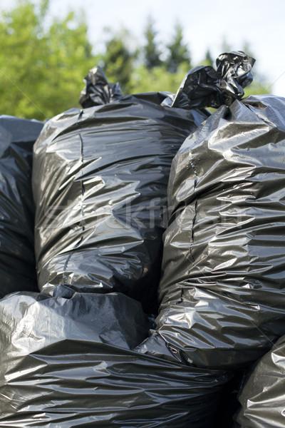 Trash bags Stock photo © wellphoto