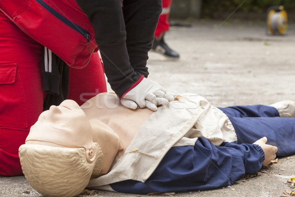 First aid Stock photo © wellphoto