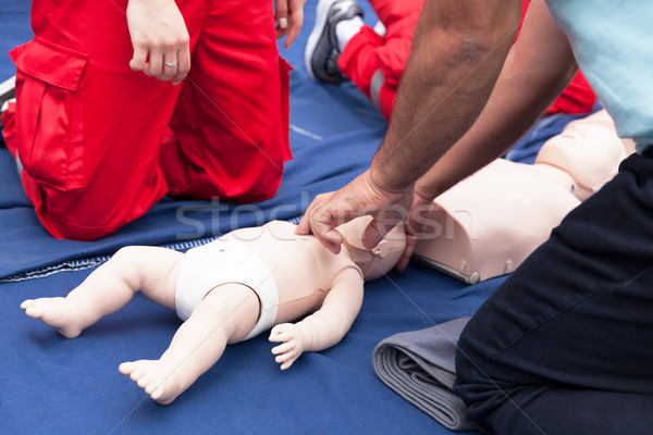 First aid training course Stock photo © wellphoto
