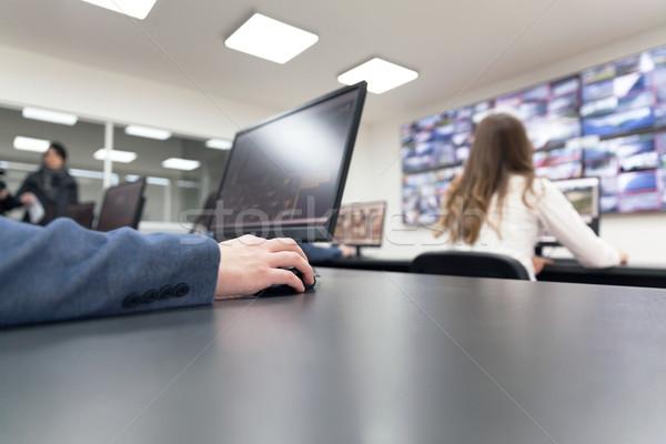Security video surveillance Stock photo © wellphoto