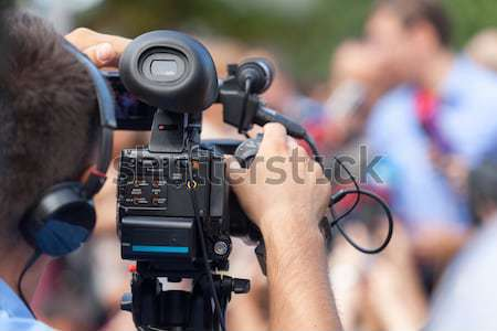 événement caméra vidéo technologie film vidéo studio Photo stock © wellphoto