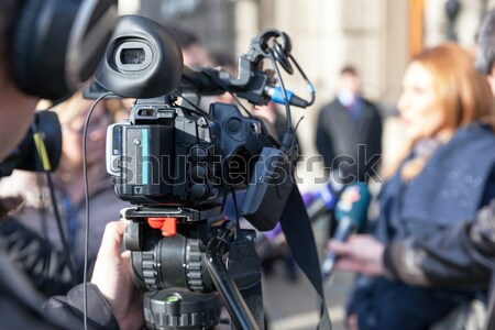 Cameraman Stock photo © wellphoto