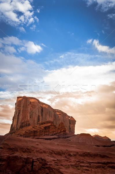 Elefant Monument valley Stock photo © weltreisendertj