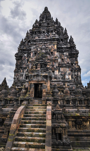 Hindu temple Prombanan complex in Yogjakarta in Java Stock photo © weltreisendertj
