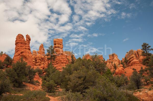 Kanyon piros nyugat USA Utah 2013 Stock fotó © weltreisendertj