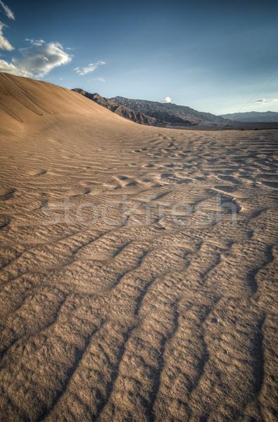 Duna mirar como ola muerte valle Foto stock © weltreisendertj