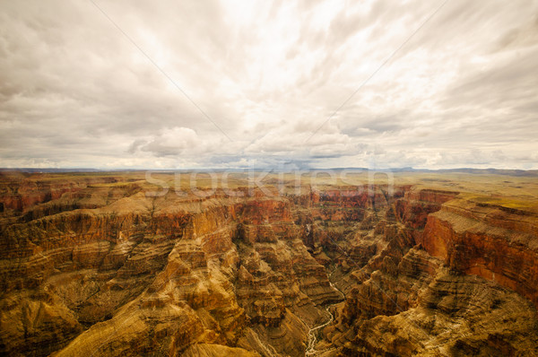 look into Grand Canyon Stock photo © weltreisendertj