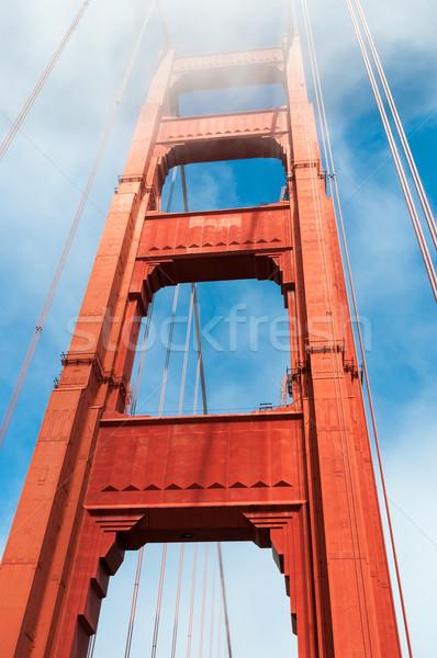 San Francisco Bridge Stock photo © weltreisendertj