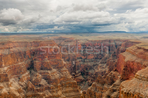 Grand Canyon panoramic view Stock photo © weltreisendertj