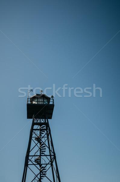 Alcatraz monitoring storm Stock photo © weltreisendertj