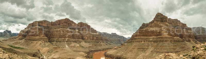Grand Canyon panorama USA Nevada piękna krajobraz Zdjęcia stock © weltreisendertj