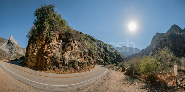 Kings canyon street panorama Stock photo © weltreisendertj