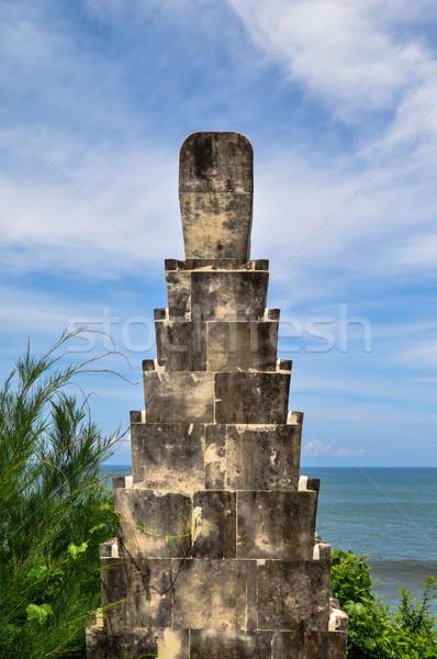 Kép templom Bali sziget Indonézia természet Stock fotó © weltreisendertj