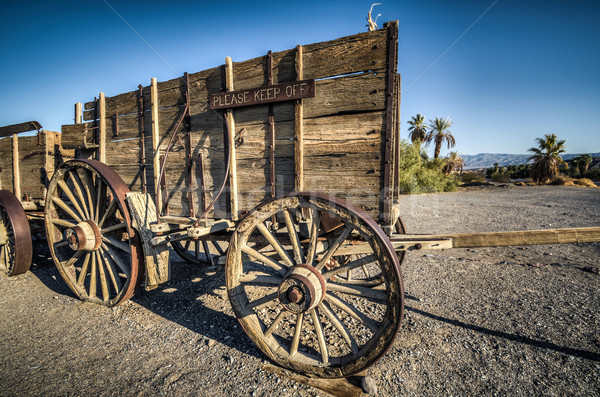 Stock photo: Death Valley furnace creek ranch