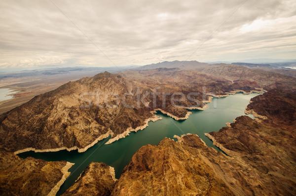 Lago Hoover Dam Grand Canyon Nevada Las Vegas 2013 Foto stock © weltreisendertj