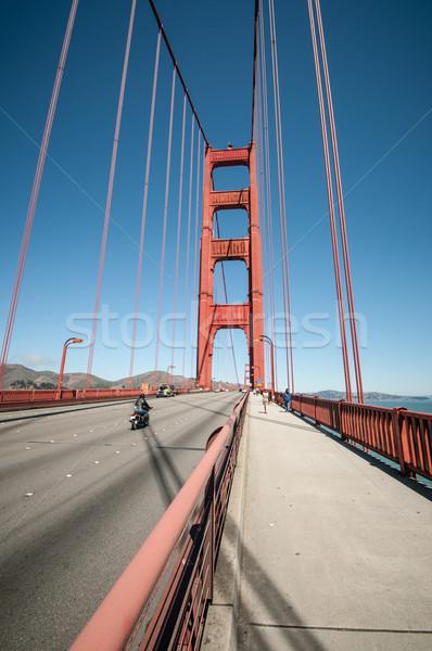 golden gate San Francisco Stock photo © weltreisendertj