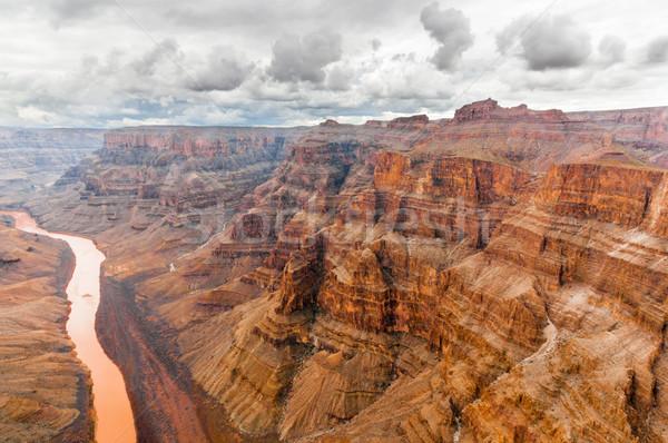 Grand Canyon big wall Stock photo © weltreisendertj