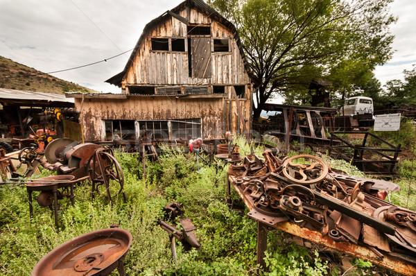 Arizona batı ev çöp boya Stok fotoğraf © weltreisendertj