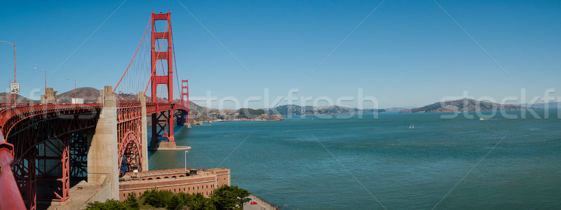 Golden Gate Bridge San Francisco Califórnia EUA 2013 água Foto stock © weltreisendertj