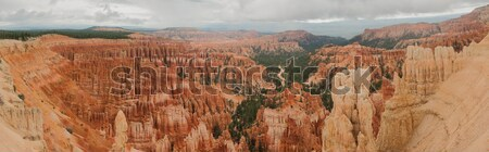 Canyon Bryce Panorama Stock photo © weltreisendertj