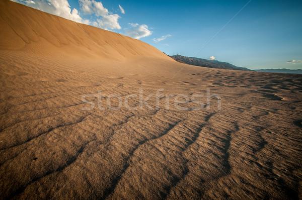 波 砂丘 死 谷 ルックス のような ストックフォト © weltreisendertj