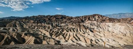 Tod Tal Panorama Sand Kalifornien Panorama Stock foto © weltreisendertj
