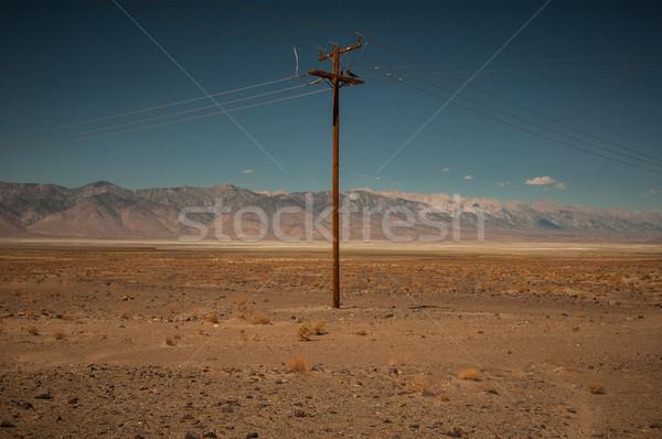 leaving Death Valley Stock photo © weltreisendertj