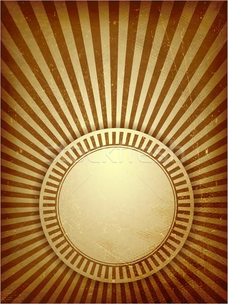 ブラウン グランジ 光 日光 羊皮紙 ストックフォト © wenani