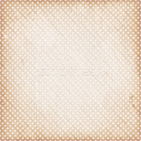 Distressed background with dots Stock photo © wenani