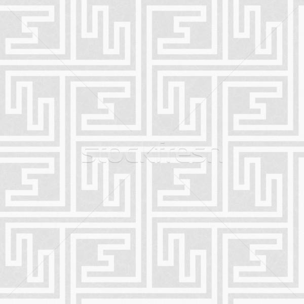 Géométrique clé modèle simple Photo stock © wenani
