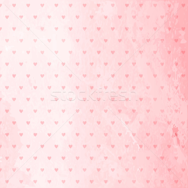 розовый Гранж аннотация сердце шаблон Сток-фото © wenani