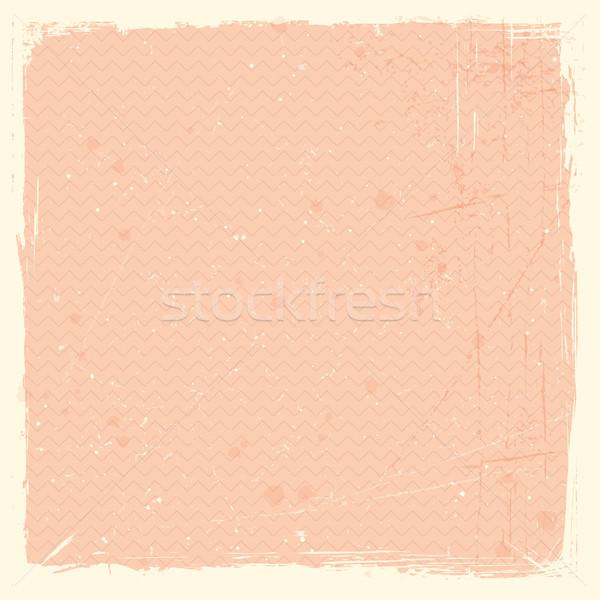 Grunge textuur patroon bleek Rood rose grunge gebeitst Stockfoto © wenani