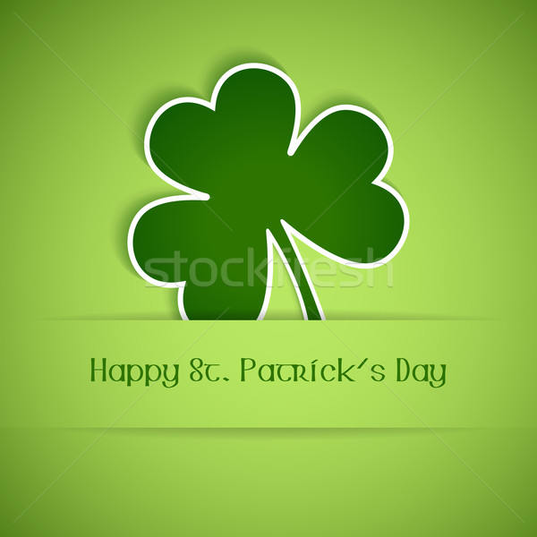 Happy St Patrick's Day card Stock photo © wenani